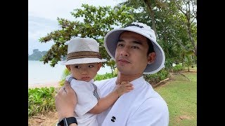 1 tuổi, quý tử nhà Lương Thế Thành - Thuý Diễm đã được mặc sành điệu chẳng thua người lớn