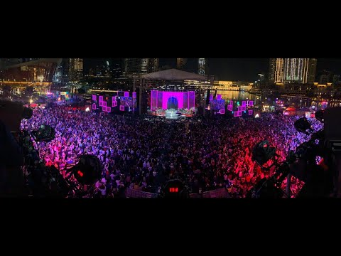 Dubai Shopping Festival Launch Concert at the Burj Park – Downtown