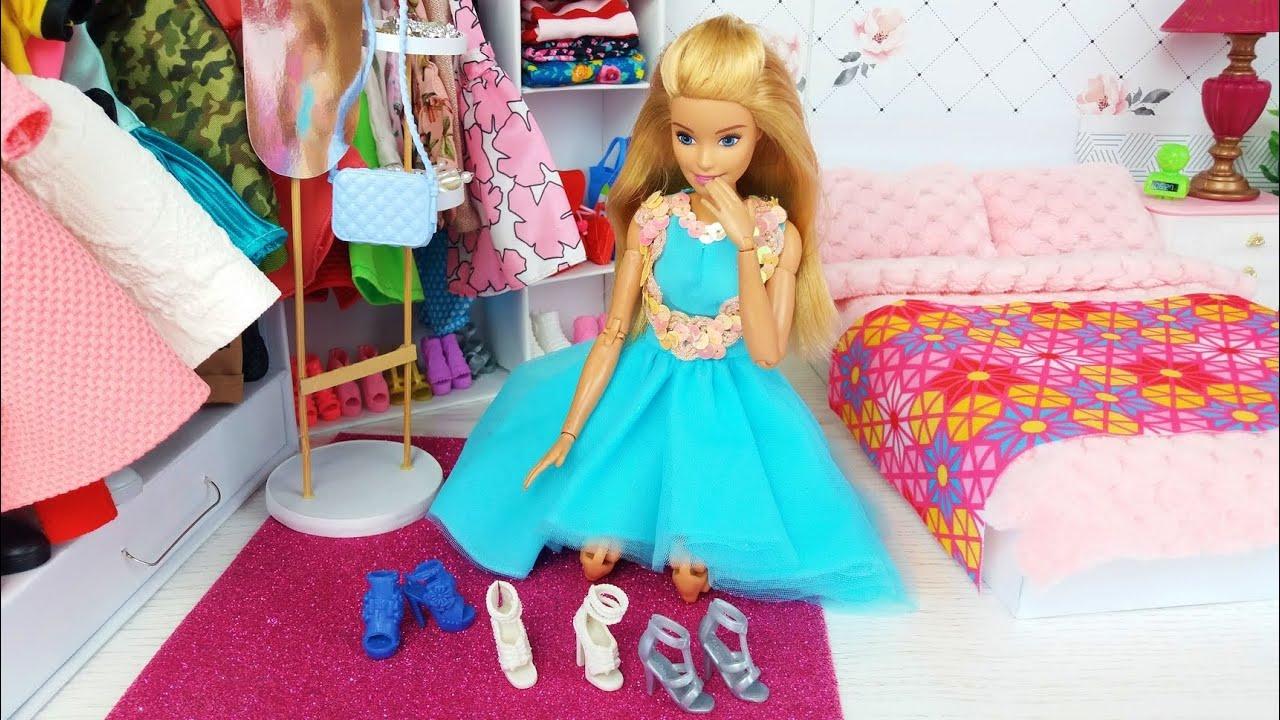 Barbie Ken Mañana Dormitorio Rutina❤️ La vida en una casa de ensueño