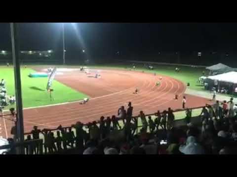 Guyana  school Nationals 2017 4×400m relay