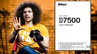 Nikon D7500 User's Guide