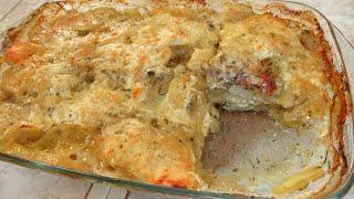 Просто но вкусно Вкусная КАРТОШКА в духовке Картофель с сыром в молоке
