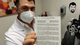 EXAMEN DE PRESBICIA A  LEONARDO HERRERA DE   TV AZTECA HGO