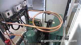 Froid62-Montage 3-Chambre froide négative-La partie tuyauterie-partie 3/4