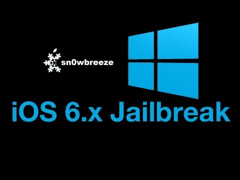 How to jailbreak iOS 6 and iOS 6.0.1 with Sn0wBreeze 2.9.7 on Windows - Tethered