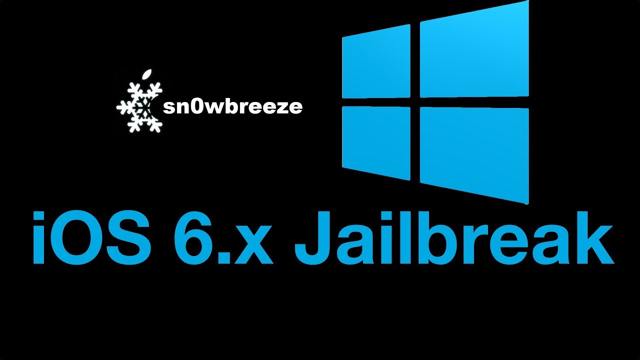 How to jailbreak iOS 6 and iOS 6 0 1 with Sn0wBreeze 2 9 7