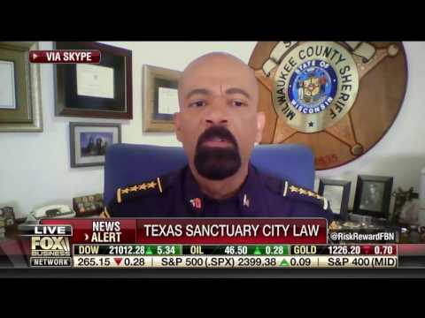 FBN 05 08 2017 5 37 19pm Risk and Reward – Liz MacDonald, Sheriff Clarke on Texas Gov  signing anti