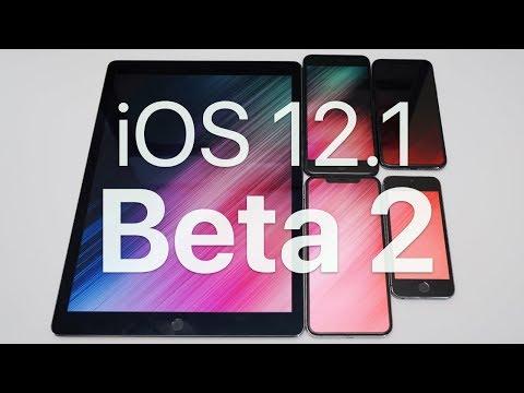 iOS 12.1 Beta 2 - What's New?