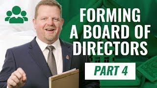 Forming and Establishing A Nonprofit Board Of Directors Video 4 of 4 Nonprofit Series (NEW 2020!)
