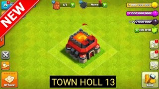 How to update the Clash of Clans Town Hall 13.How to update the Clash of Clans Town Hall 13