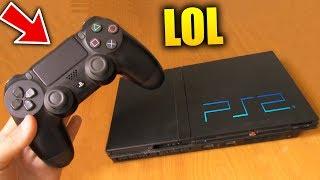 ¿QUE PASA SI PONES UN MANDO DE PS4 EN LA PS2? PlayStation 4