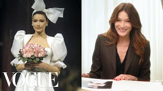 Carla Bruni Breaks Down 13 Looks From 1988 to Now | Life in Looks | Vogue