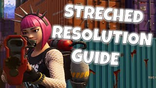 TSM Myth's Res | How To Get Stretched Resolution in Fortnite (1440x1080 PC Tutorial)