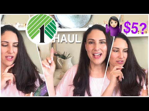 Dollar Tree Haul | $5 items at Dollar Tree? Whaaaaaat?