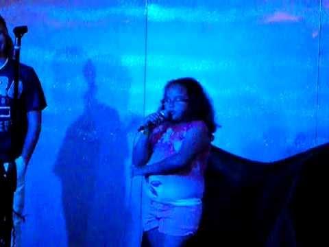 "Carnival Imagination 2-10-12 Karaoke ""Hot & Cold Katy Perry"""