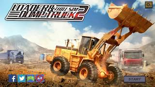 Loader & Dump Truck Hill SIM 2 | Gameplay (Android)