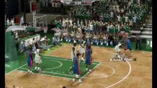 NBA 2K9 PC gameplay 8400gs