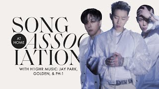 Jay Park, Golden & pH-1 Sing Destiny's Child and More in a Game of Song Association | ELLE