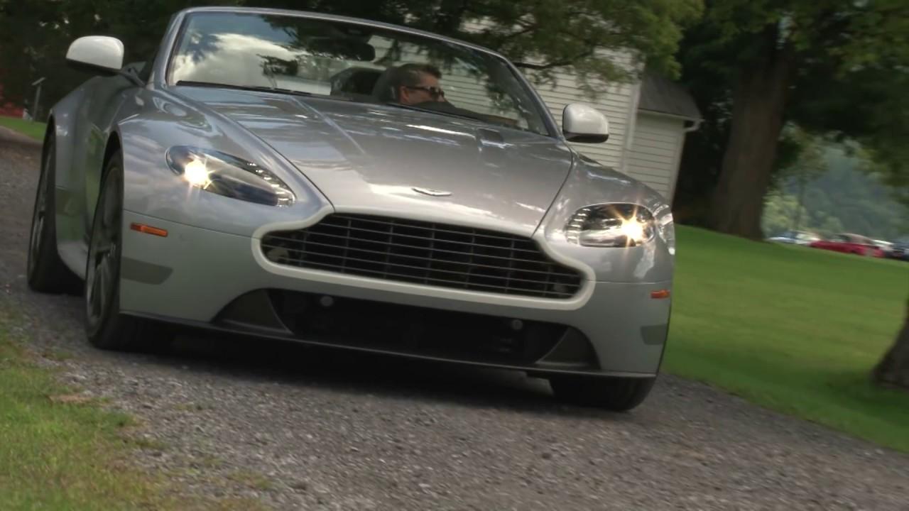 Aston Martin Vantage Gt 2015 Review Testdrivenow Youtube