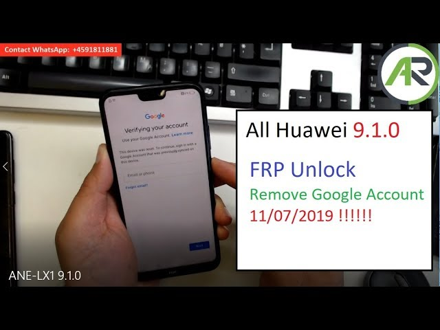 BoooM!!! Huawei 9 1 Remove Google Account | p20 lite frp