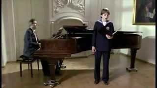 Terry Wey (Wiener Sängerknaben  Schubert)  An die Musik
