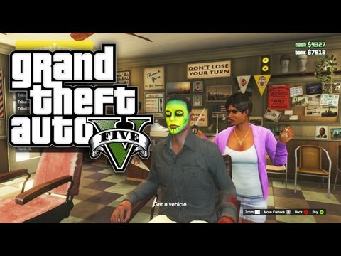 GTA 5 Online - How To Get A Headstart! (Robbing Stores, Selling Cars, Money Tips) GTA Online / GTA V