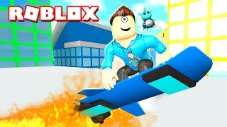 MAD CITY CREATOR GAVE ME A HOVERBOARD! (Roblox)   MicroGuardian