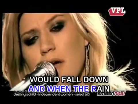 Because Of You - Kelly Clarkson - MP3 instrumental