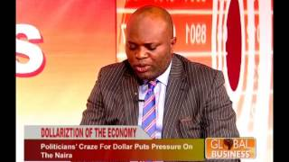 TOPE FASUA ON GLOBAL ECONOMY SHOW. DISCUSSES FX MANAGEMENT 2