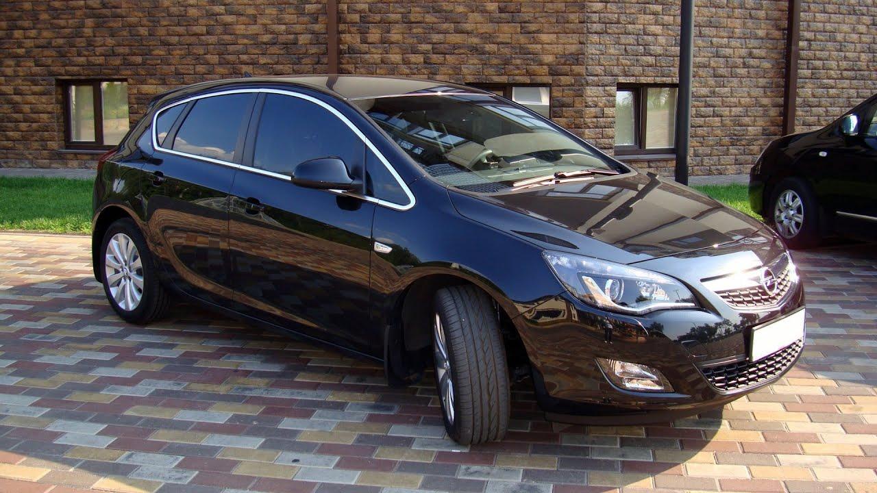 Opel Astra J 2011 - Секонд Тест - YouTube