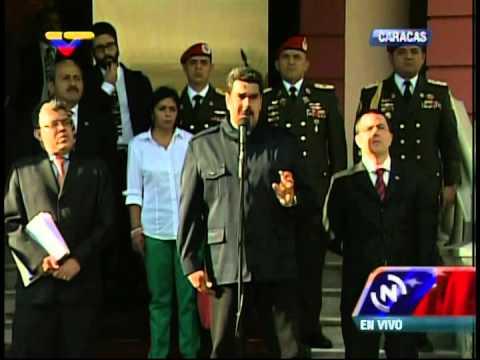 Maduro advierte de narcos tras plan de asesinatos y secuestros, recomienda a MUD elevar seguridad