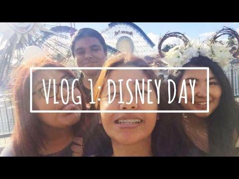 Vlog 1: I WET MY PANTS AT DISNEYLAND | Ohshawr