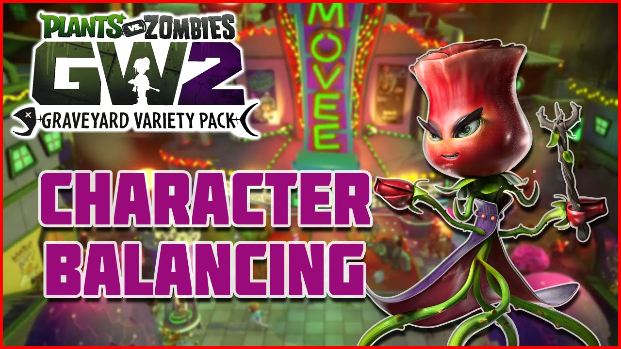 Plants Vs Zombies Garden Warfare 2 All Character Changes Rose Nerf Imp Buff More
