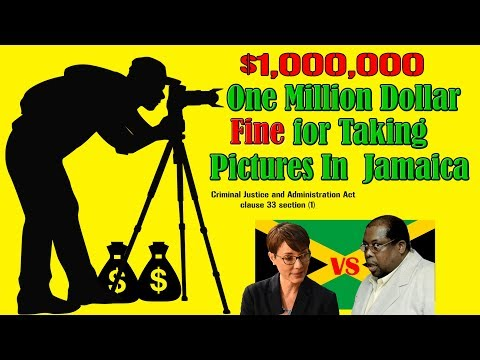 Jamaica Ridiculous Laws and Fines