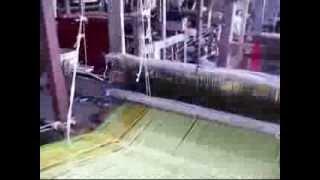 Weaving Process Using Handloom