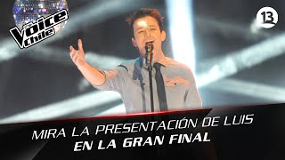 The Voice Chile | Luis Pedraza - Wrecking Ball GRAN FINAL