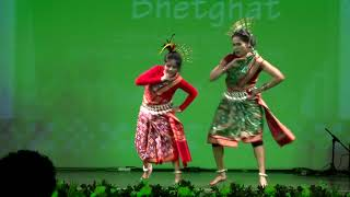 Sambalpuri Dance by Mother & Daughter @ Nuakhai Bhetghat 26.08.2017