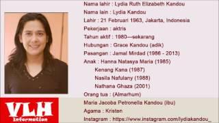Biodata Lidya Kandou Pemain Rindu Tiara di ANTV