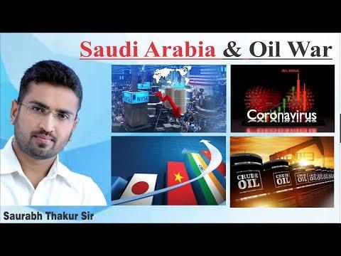 Saudi Arabia has an incredible oil price war with Russia.