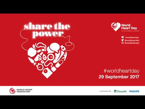WHF President - David Wood - World Heart Day 2017 message for WHF members