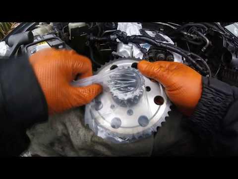 How to change the timing chain of Nissan Pathfinder Navara / Как поменять цепь ГРМ Nissan Pathfinder