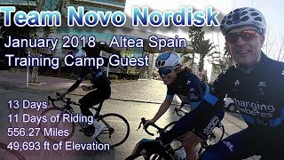 2018 Team Novo Nordisk Training Camp