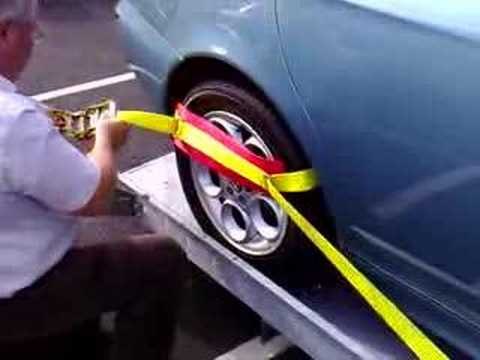 Vehicle Trailer Recovery Strap Demonstration Video Youtube