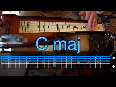 Video Lapsteel Basics 2 Ways To Play Major And Minor Chords In