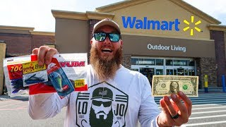 Fishing w/ the CHEAPEST Gear in Walmart (w/ KickinTheirBassTV)