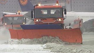 """Flughafen-ABC: Das """"W"""" wie """"Winter"""""""