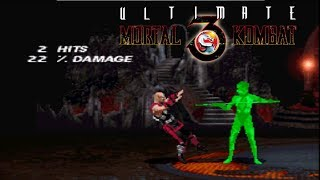 Ultimate Mortal Kombat 3 - Kano【TAS】