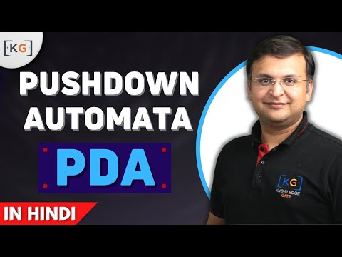 Pushdown Automata theory of computation in hindi | PDA in TOC in hindi | PDA in automata part-60