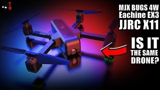 MJX BUGS 4W, Eachine EX3 and JJRC X11: The Same Drone Under Different Names