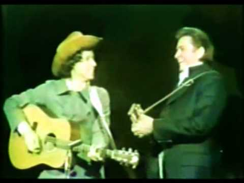 Arlo Guthrie & Johnny Cash  Alices Restaurant